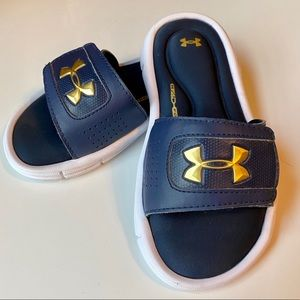 {Under Armour} Boy's Slides / Sandal Sz 12K